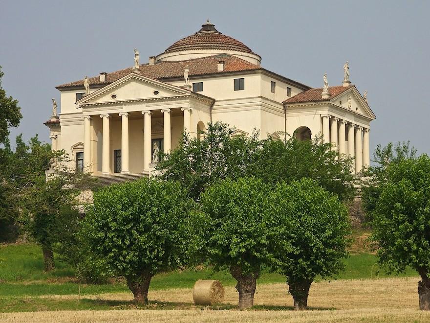 Villa Capra Valmarana Rotonda Palladio Tour Vicenza