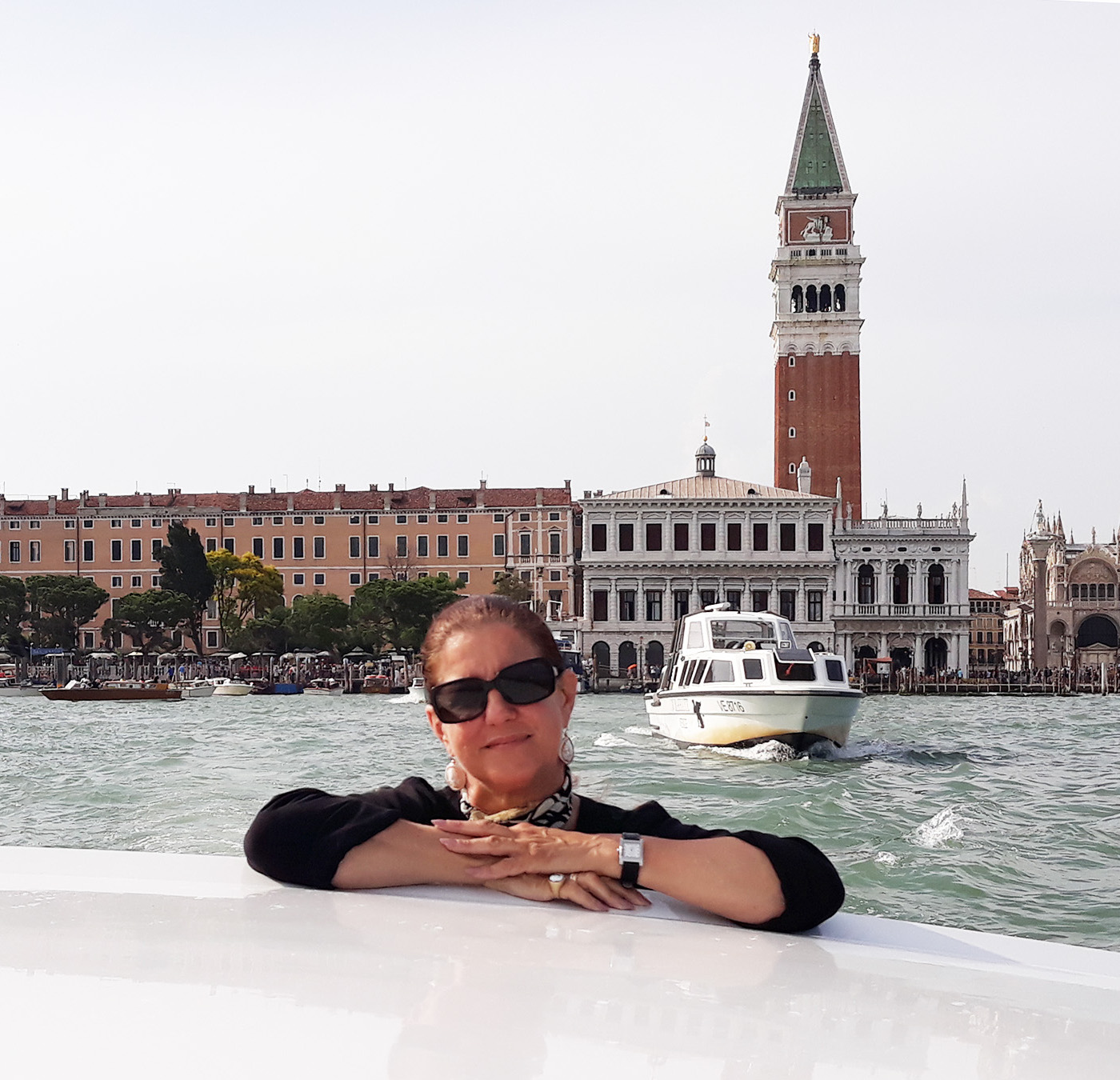Alessandra Massignani guida turistica a Venezia