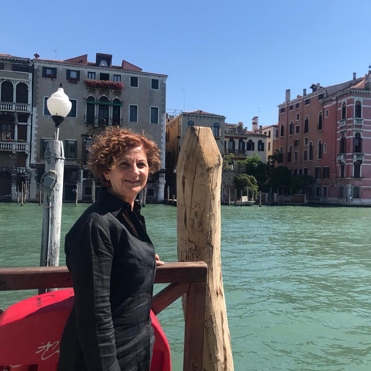 Donatella Gibbi, guida turistica a Venezia