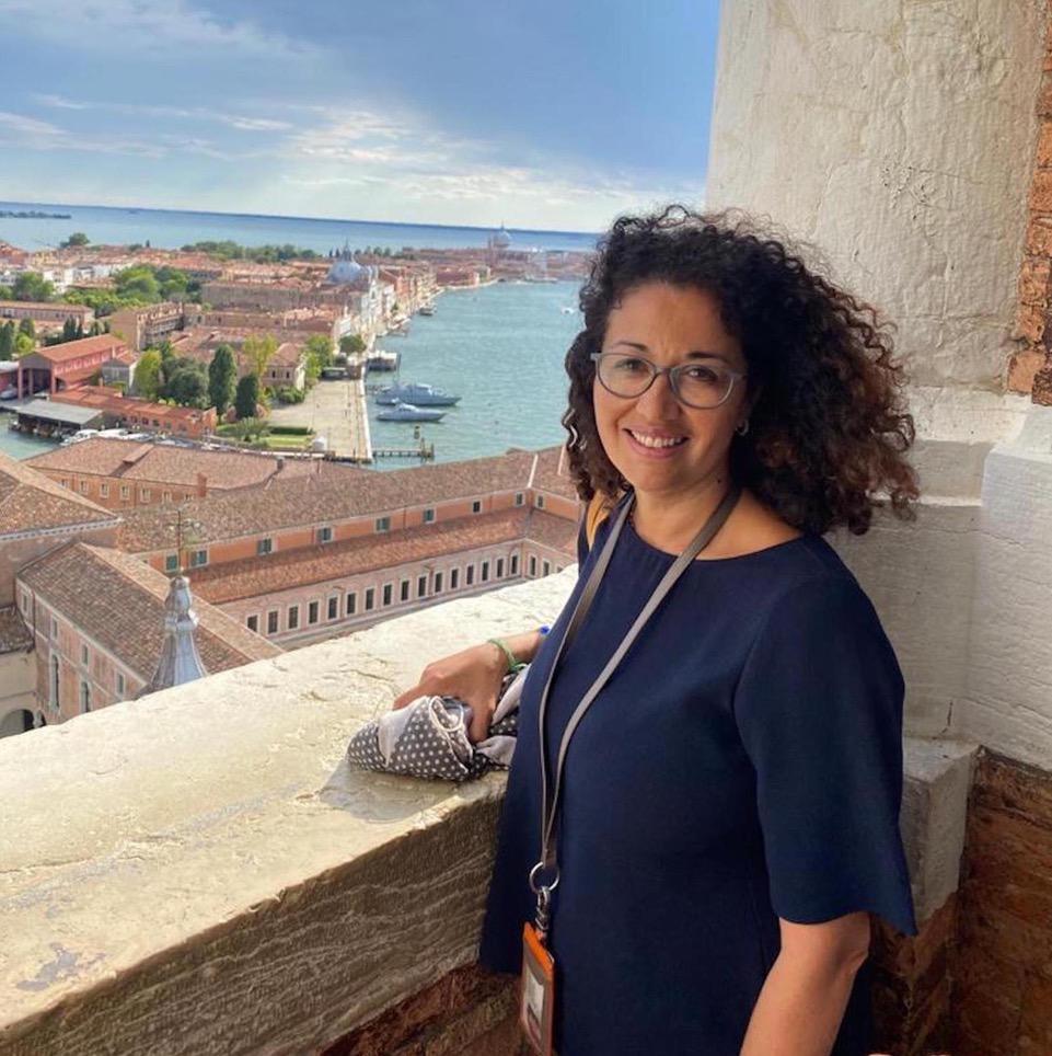 Adriana Veneza, guida turistica a Venezia