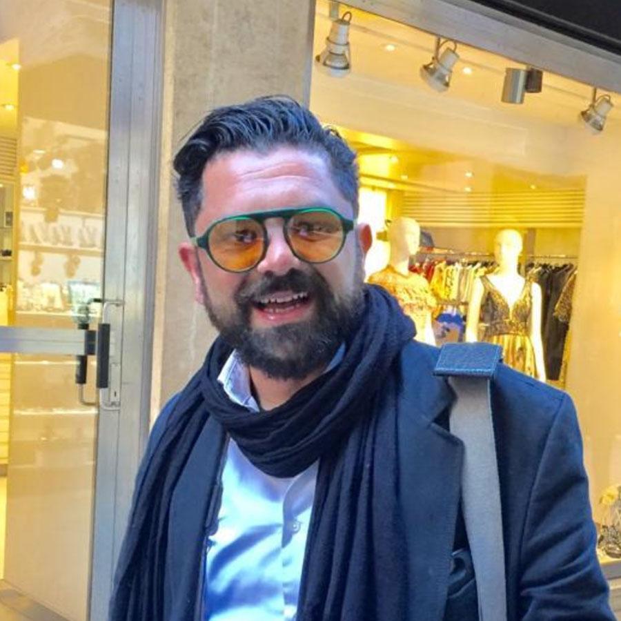 Francesco Petrelli, guida turistica a Venezia